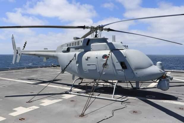 Флот США вооружается вертолетами-роботами для десантных атак