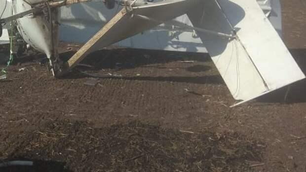 Легкомоторный самолет потерпел крушение в Татарстане