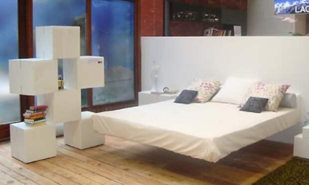 Креативная спальня: 10 очень необычных кроватей