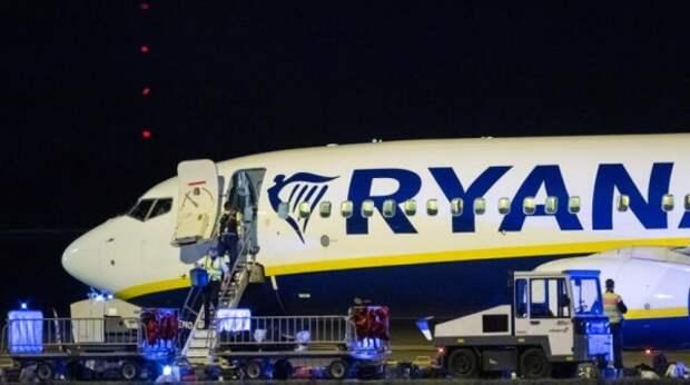 На Украине обвинили Россию в инциденте с самолетом Ryanair