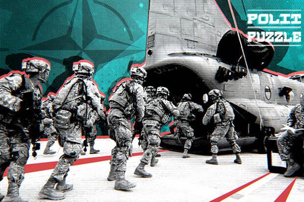 Ночная высадка десантников НАТО у границ России вызвала бурную реакцию у иностранцев