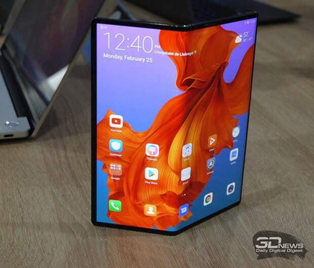 Huawei: гибкие смартфоны станут дешевле нынешних флагманов