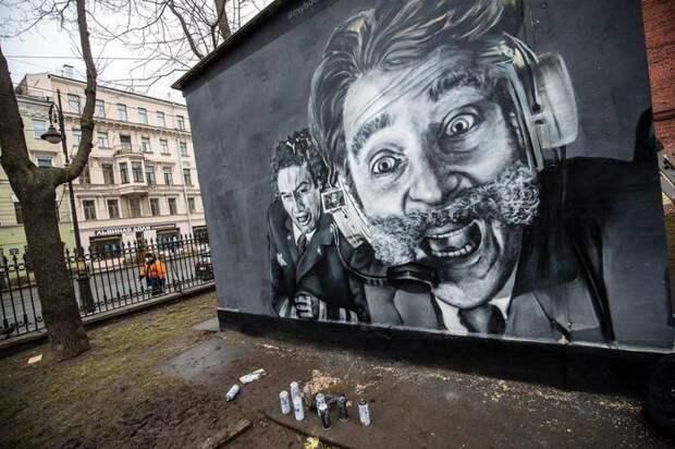 Графитти про Крутое Пике (актуально)