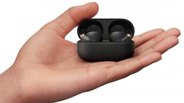 Компания Sony выпустила беспроводные наушники с шумоподавлением