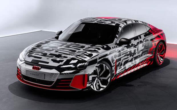 Audi показала конкуренты Tesla Model S