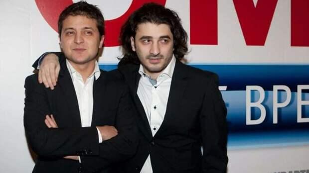 Владимир Зеленский и Сарик Андреасян. Фото Инстаграм
