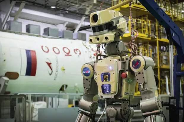Робота-космонавта «Фёдора» заподозрили в повреждении МКС