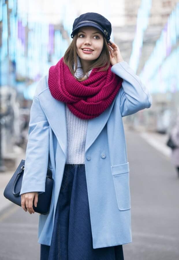 Как носить и с чем сочетать снуд: советы стилистов