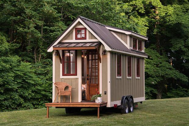 Tiny house : 2 в 1