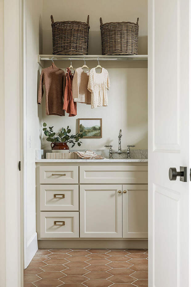 Теплая атмосфера дома в работе дизайнера Kelsey Leigh