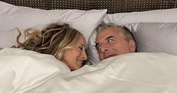 Мужчина Мечты опубликовал фото в постели с Кэрри Брэдшоу
