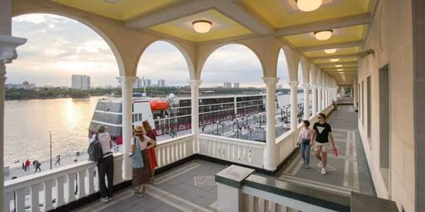 Собянин: Более 1,5 млн человек посетили Северный речной вокзал после окончания реставрации / Фото: Е.Самарин, mos.ru