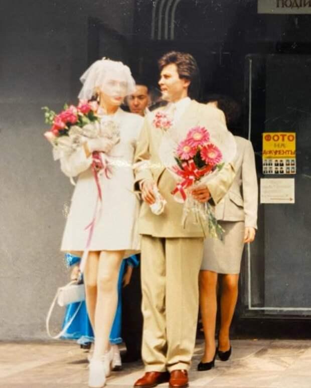 Ольга Сумская и Виталий Борисюк: фото со свадьбы