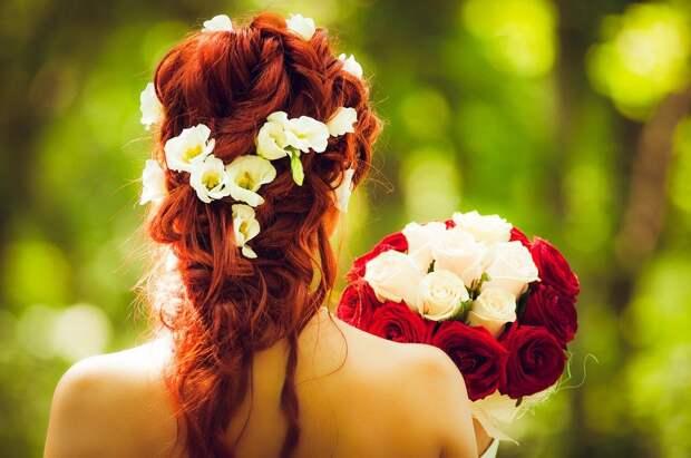 Невеста, Жениться, Свадьба, Красные Волосы