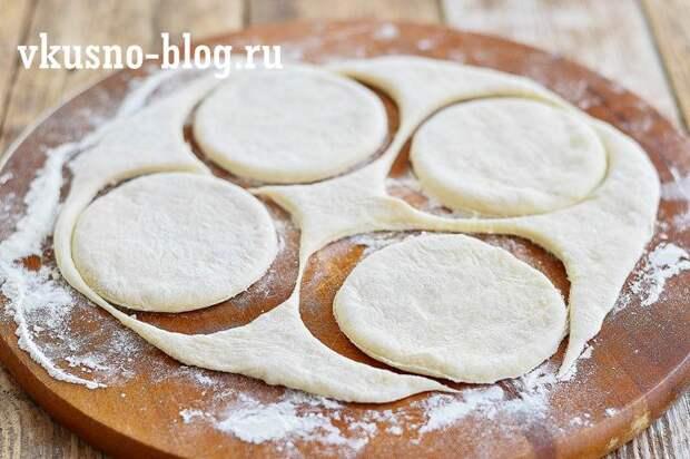 Тонкие жареные пирожки с картошкой на кефире изумительные на вкус!