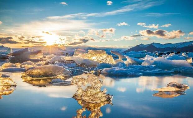 Ледниковая лагуна Йёкюльсаурлоун