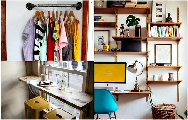 Стильные и полезные идеи для обустройства небольших пространств