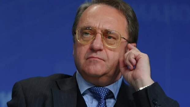 Богданов провёл встречу с послом Сирии в Москве