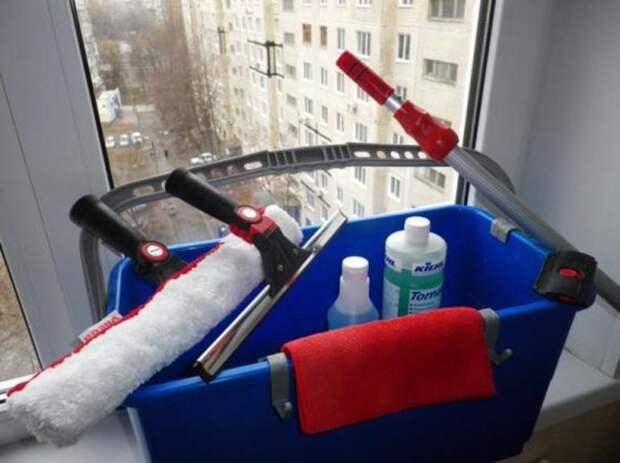Способы уборки на балконе
