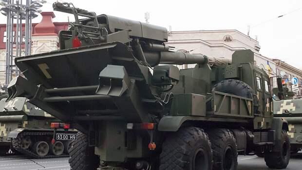 """Литовкин высмеял """"данную Богом"""" украинскую артиллерийскую установку """"Богдана"""""""