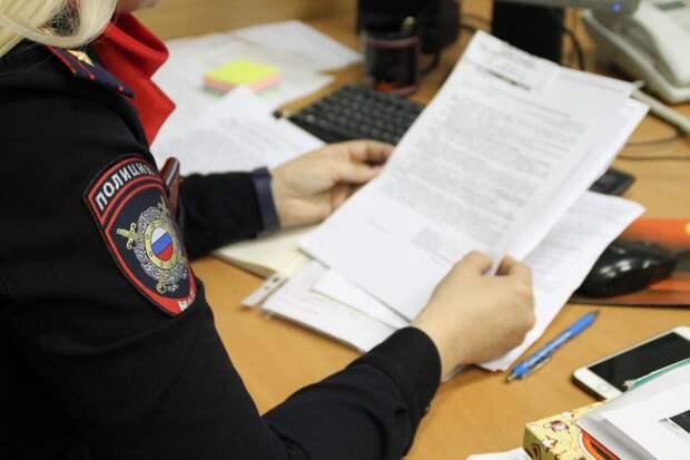 Полиция/ Фото предоставлено пресс-службой УВД по САО