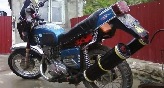 Тюнинг мотоциклов в СССР — отдельное направление искусства