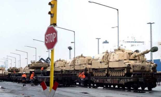 «Танки США едут на войну с Россией»: в Германии бьют тревогу из-за действий НАТО