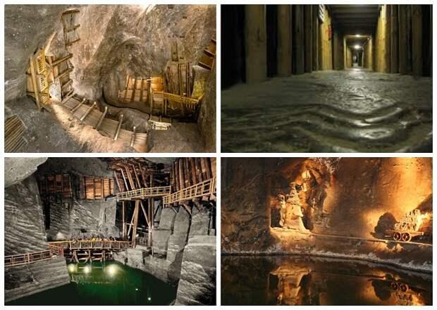 Подземный город, в котором каждый элемент высечен из соли
