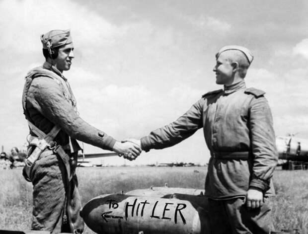 Операция «Фрэнтик»: как лётчики США воевали вместе с русскими против Гитлера