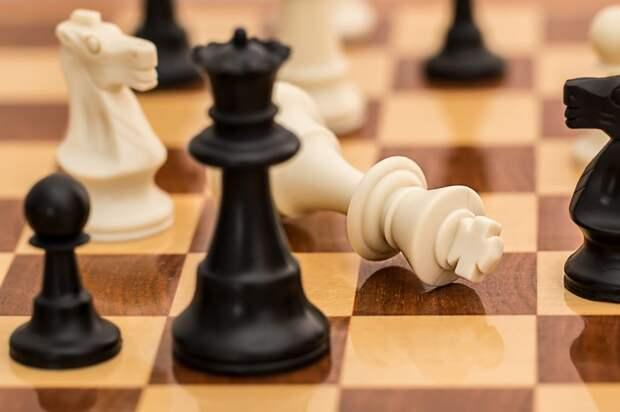 В коридорах школы «Свиблово» установили шахматные столы