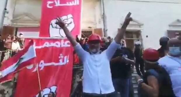 Столицу Ливана охватил «стремительный Майдан»— протестующие уже заняли одно изминистерств (+ВИДЕО) | Русская весна