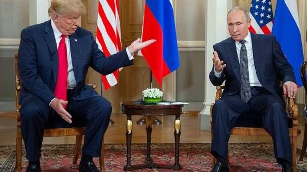 Путин охарактеризовал Трампа как «неординарную личность»