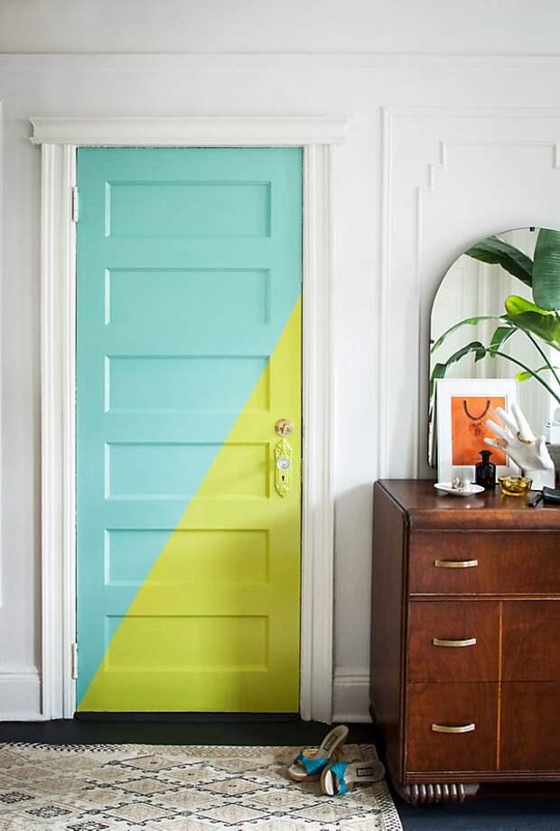 Перекрас двери (подборка)
