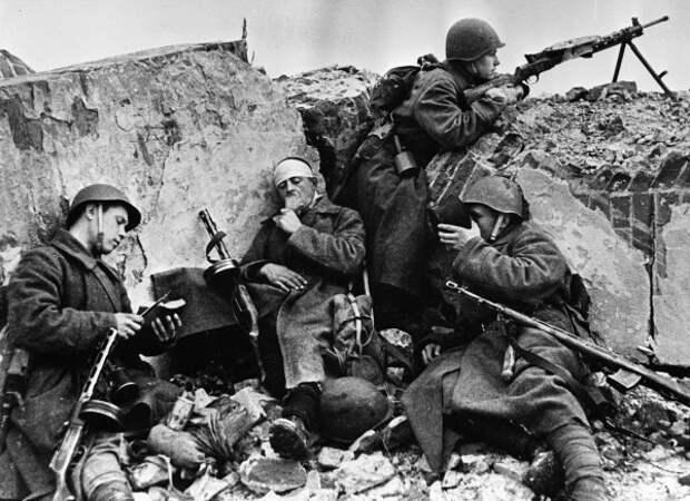 Чем бойцы Красной Армии удивили солдат вермахта