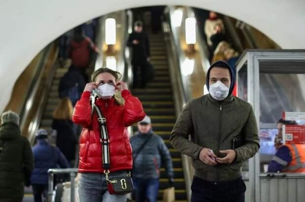 В России выявили еще 5488 новых случаев коронавируса
