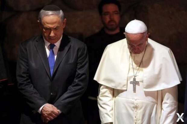 Папа Франциск и премьер-министр Израи...