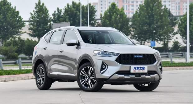 Haval F7 — самый продаваемый автомобиль из Китая с начала года