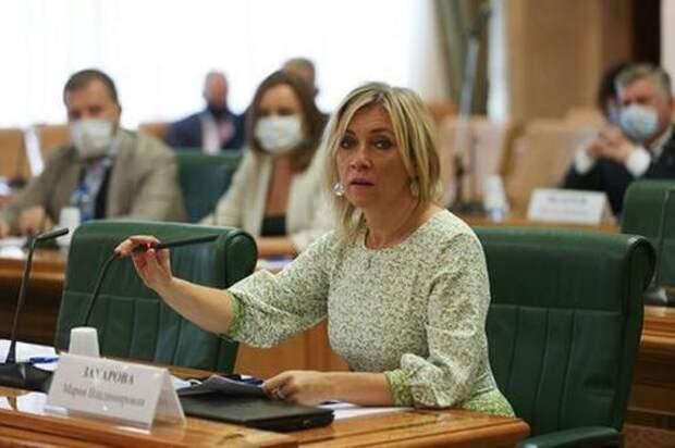 Захарова прокомментировала реакцию Лаврова на поведение журналиста BBC