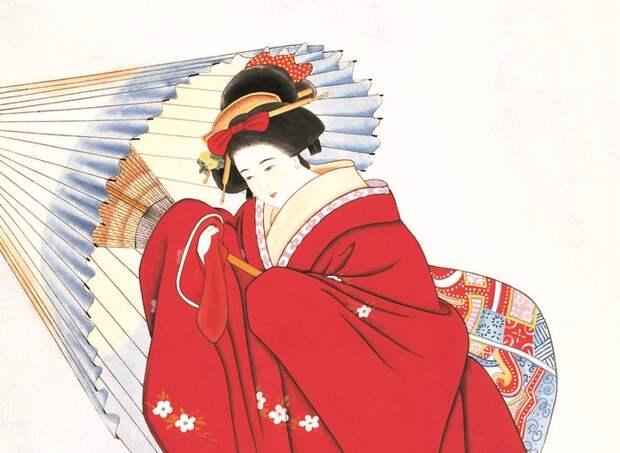 Японская женщина. /Фото: liveinternet.ru/
