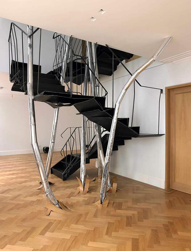 оригинальные лестницы фото
