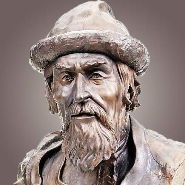 Реконструкция по черепу облика князя Ярослава Мудрого. Источник фото: https://i.pinimg.com