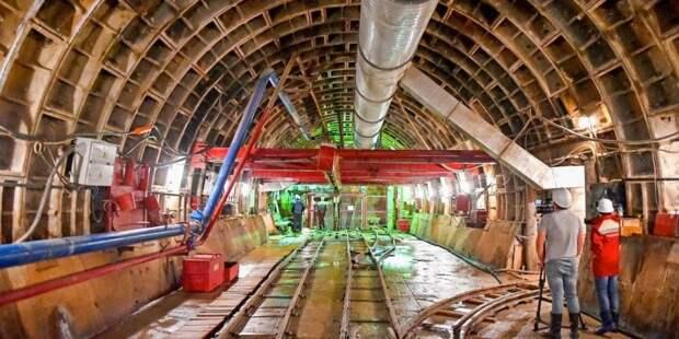 Собянин утвердил наименования семи строящихся станций БКЛ метро. Фото: mos.ru