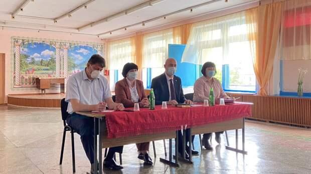 Председатель Государственного комитета ветеринарии Республики Крым Валерий Иванов принял участие в выездном аппаратном совещании в Советском районе