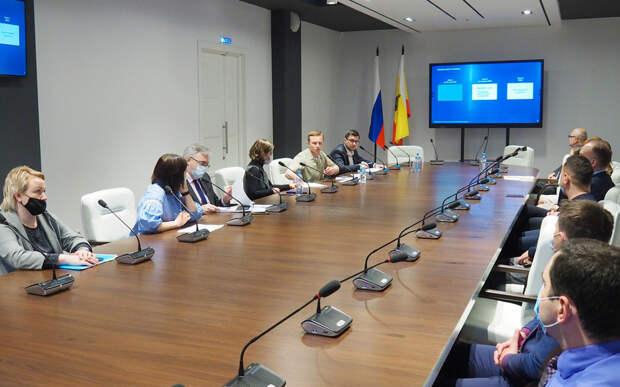 В Рязани презентовали результаты предпроектного анализа восстановления Торгового городка