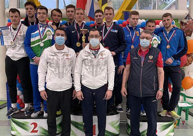 Рапиристы ЦСКА завоевали пять наград в составе команд на всероссийских соревнованиях