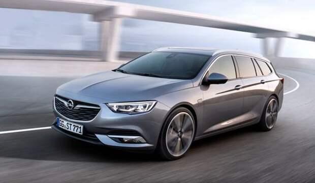 Opel Insignia: стали известны двигатели и коробки передач