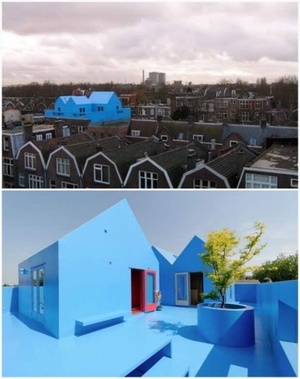 4. «Голубая мечта» в Нидерландах дом, интересное, подборка, факты