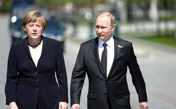 Меркель и Путин обсудили по телефону отравление Навального