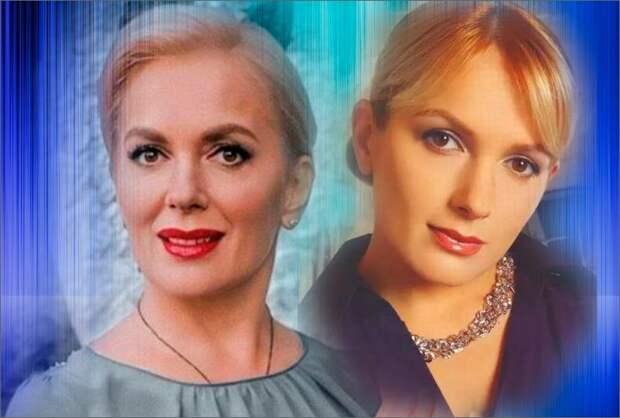 Коллаж автора - Мария Порошина 2020 год и 2003 год