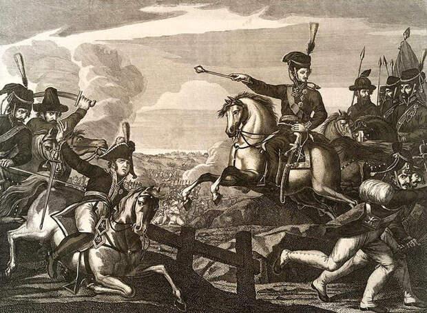 Бородачи с кривыми саблями рубятся с Наполеоном